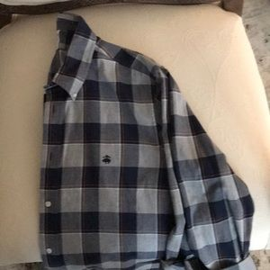 Men's Brooks Brothers XL Plaid button up shirt